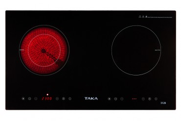 1 infrared 1 induction cooker Taka IR2B