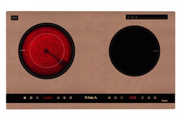 1 infrared 1 induction cooker Taka IR2A2