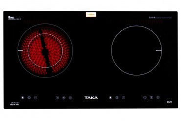 1 infrared 1 induction cooker Taka IR2T