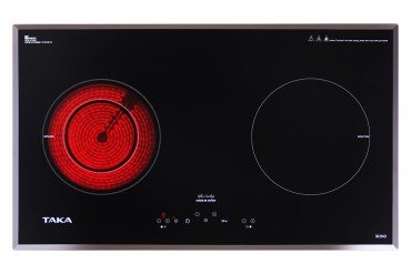 1 infrared 1 induction cooker Taka IR2ND