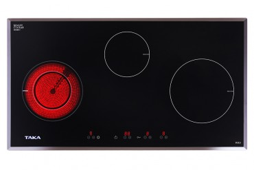 1 infrared 2 induction cooker Taka IR3EU